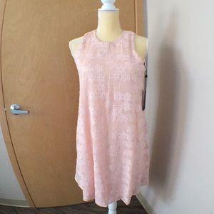 Pale pink flowy dress